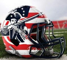 Another Patriots concept helmet - this one I really like!!