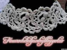 Crochet Wedding Jewellery Collection