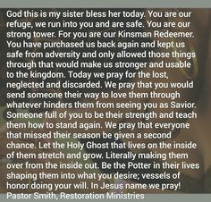 Sister Prayer, Prayers For Sister, My Sister, Kinsman Redeemer, Blessed, Sisters, God, Dios, Praise God