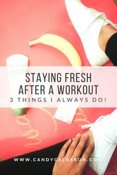 I don't always have time to take a shower after I hit the gym! So these are the 3 things I usually do to freshen up when I have to keep going! #RAWellnessBeauty #CollectiveBias #Ad