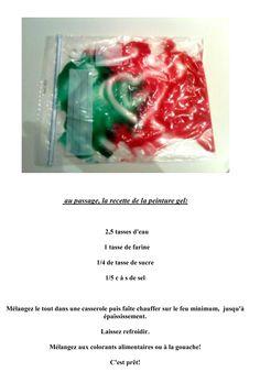 recette peinture gel