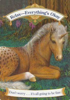 MAGICAL UNICORNS ORACLE CARDS BY DOREEN VIRTUE