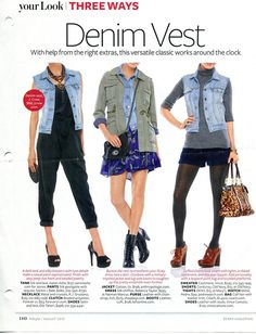 20 Style Tips On How To Wear Denim Vests, Outfit Ideas | Gurl.com