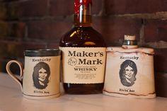 Loretta Lynn Flasks & Mugs By David Kring | Kentucky for Kentucky