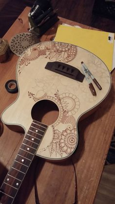 Can you help me in a guitar makeover?