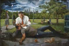 Alpha Omega Arts News: Memphis Showcases African-American Religious Art Museum Art Gallery, Art Museum, Memphis Art, Good Samaritan, Biblical Art, Gay Art, Religious Art, Old Things, African Americans