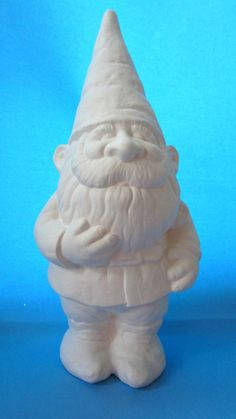 Travel Gnome Unpainted, ready for glaze Bisque