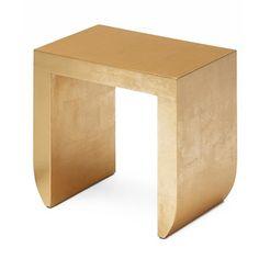 BUSSOLARI: Table Pompeo Golden