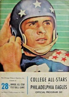 Chicago Tribune, Philadelphia Eagles, College Football, Programming, All Star, Charity, Baseball Cards, Sports, Vintage