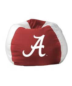 Look at this Alabama Crimson Tide Bean Bag Chair on #zulily today!