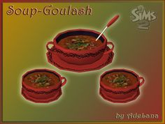Goulash Soup for The Sims 2 (TS2)