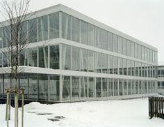 Christian Kerez - School extension, Eschenbach, 2004