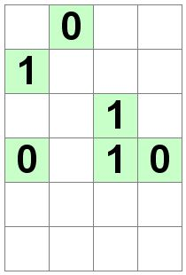 Number Logic Puzzles: 21485 - Binary size 0