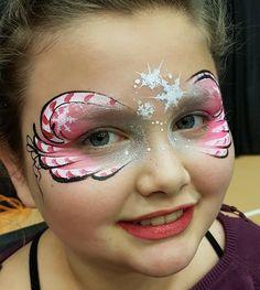Mai Bohl Christmas Face Painting Design Face Painting Tips, Eye Painting, Face Painting Designs, Painting For Kids, Face Paintings, Painting Tutorials, Paint Designs, Christmas Makeup, Christmas Fashion