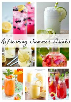 Kick back & relax with these refreshing summer drinks!