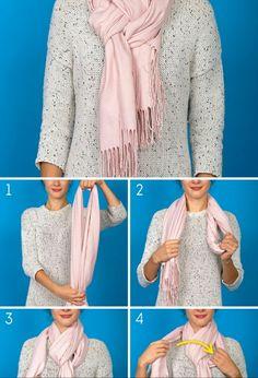 Best 12 How to wear a blanket scarf shawl tie scarves ideas howtowear – SkillOfKing.Com - Her Crochet How To Wear A Blanket Scarf, Ways To Wear A Scarf, How To Wear Scarves, Scarfs Tying, Ways To Tie Scarves, Tartan Plaid Scarf, Scarf Knots, Scarf Tutorial, Pashmina Scarf