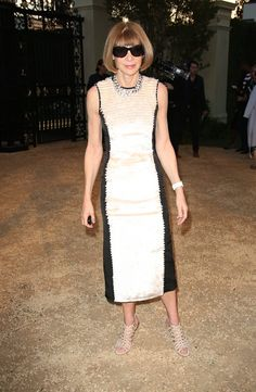 Летние платья 2015 для тех, кому за 40: 8 идей от иконы стиля Анны Винтур
