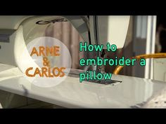 HOW TO MAKE A PILLOW INSPIRED BY THE FLOWERS IN OUR GARDEN – ARNE & CARLOS