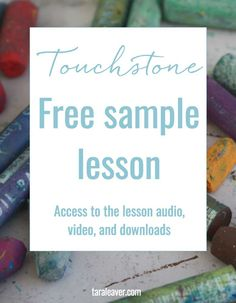 A free sample lesson on creative superpowers from the Touchstone course