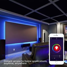 Home Theater Lighting, Home Theater Room Design, Movie Theater Rooms, Home Cinema Room, Home Theater Decor, Bar Lighting, Movie Rooms, Small Movie Room, Game Room Lighting