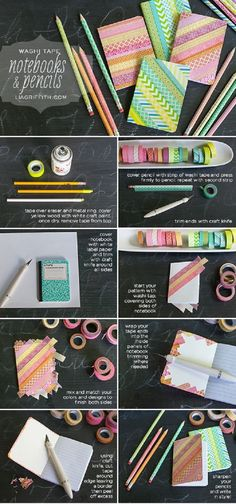Top 10 Cute DIY Crafts You Can Make by Using a Washi Tape