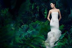 Enchanting Forest Fashion Ads : Vera Wang Fall 2013 campaign