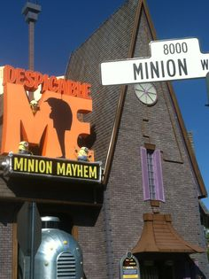 Universal Studios Orlando Florida! Love some Minions!!!