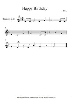 Image result for common trumpet songs to play for kids