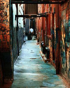 alley, Ann Arbor, MI USA