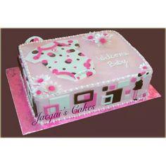 Cute Flat Onesie Cake