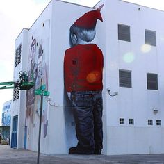 MTO painting in Miami from London Street Art magazine