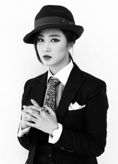 Kwon Yuri Of Girls Generation For Mr Black And White Pictorial