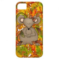 fall Mouse iPhone case mate barely there 4 iPhone 5 Cover