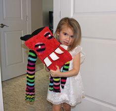 Cute Monster Toy, Monster Plush, Red Devil Plushie, Weird Stuffed Animal,Creepy Cute Art Doll, Original Monster Art