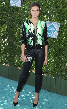 Maia Mitchell from Teen Choice Awards 2016 Red Carpet Arrivals  It's impossible not to love this edgy Giorgio Armani look. The former…
