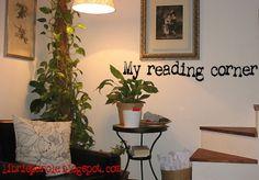 Ispirazioni dalla rete per l'angolo lettura