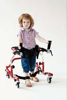 Provide a supportive base for special needs children with poor motor coordination with the customizable and adjustable Star Posterior Gait Trainer mobility aid. Adaptive Equipment, Medical Equipment, Accelerated Nursing Programs, Mobility Aids, Medical Art, Home Health Care, Making Life Easier, Cerebral Palsy, Special Needs Kids