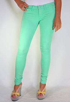 Colored Skinny Jean More Colors Available