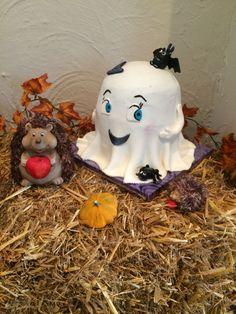 Ghost cake Motivtorte Gespenst Booh Happy Halloween 3D Torte Halloween Gespenst