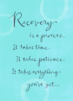 ... and you've got a lot - a kind heart, an amazing spirit and people who really care about you. #recovery
