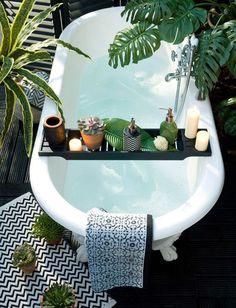 bathroom styling | designlovefest