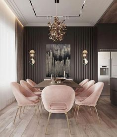 Beautiful, luxurious dining room design for luxurious living ideas # diningroom . - Beautiful, luxurious dining room design for luxurious living ideas # dining room design # luxu - Luxury Living Room, Large Decor, Room Design, Dining Room Interiors, Luxury Dining Room, Home Decor, Luxury Dining, Apartment Decor, Dining Room Inspiration