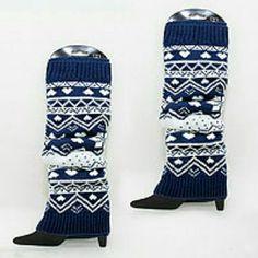 Snowflake Leg Warmers