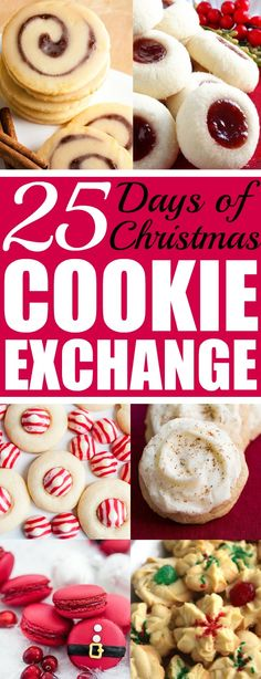 Christmas time is here! Yay! That means cookies!! I love baking and throwing parties! I love the idea of a cookie exchange. It really is genius! Hosting a cookie party for close family and friends sharing cookies and new recipes! I think this will be a new Holiday tradition for sure! Pinning for later!