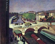 Henri Matisse - The Pont Saint-Michel 1900