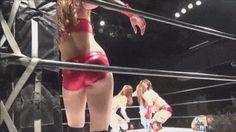 Japanese Women Wrestling, somehow it doesn't look fake