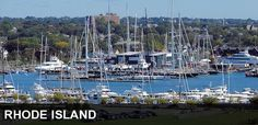 """Rhode Island sailing and ocean. We are known as the """"Ocean State""""."""