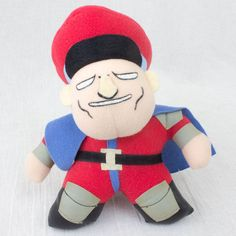 Street Fighter 2 Vega Plush Doll Figure Capcom Character JAPAN GAME