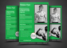 fitness flyer gym flyer templates fitness flyer gym flyer print template fully layered dpi or latercompletely ed by afzaalgraphics