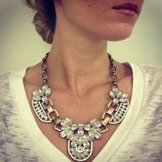 Crystal Ball: Statement Necklace